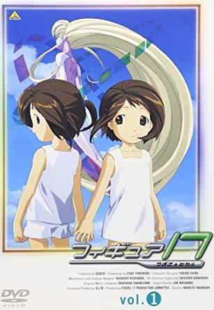 フィギュア17 DVD1巻パッケージ