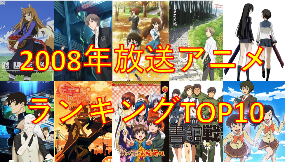 2008年TOP10